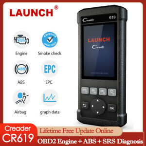 New Launch X431 Obd2 Code Reader Car Diagnostic Scanner Tool Abs Srs Epb Sas Oil