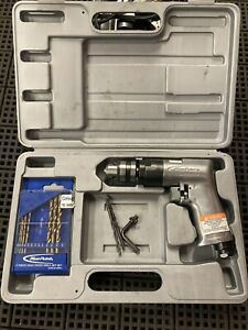 Snap On Blue Point Air Drill At803 3 8 Reversible 2200rpm W Case