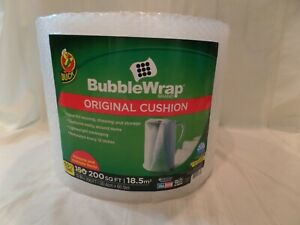 Duck Brand Original Bubble Wrap Cushioning 12 In X 200 Ft Clear Fast Free Ship