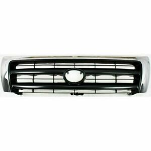 New To1200213 Grille Assy Chrome Shell For Toyota Tacoma 1998 2000