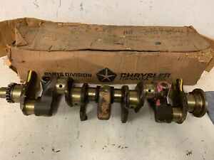 1960 71 Chrysler Dodge Plymouth Slant Six 170ci Engine Crankshaft Nos Mopar 1220