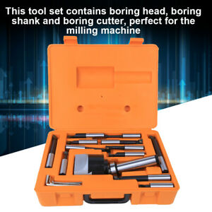 Boring Tool Set High Hardness 40cr Cnc Milling Tools Set 75mm With 3pcs Wrench