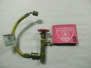 Robinair Enviro Guard Charting Hose Valve Use With R 134a