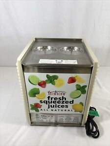 Crathco E27 e29 4 Twin Bowl 4 8 Gal cold Beverage Dispenser base Only free Ship