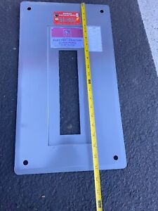 I t e 100 Amp Pushmatic Electri center Panel Cover 14 Space Reconditioned