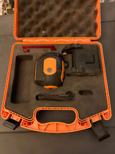 Acculine Pro 40 6520 Self Leveling Rotary Laser Level Read