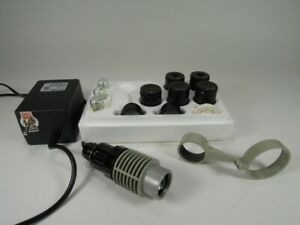 Set Of Accessories For Lomo Stereo Microscope Ohme p3 Or Mbc10