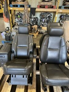 07 Gmc Yukon Denali Cadillac Escalade Tahoe Front 2nd Row Bucket Seats Heated
