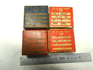 4 New Sets Usa Made Special Geometric Chasers For A 3 4 D Die Head