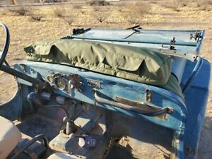 Jeep Cowl Clothes bedroll Bag Cj 2a Cj 3a Cj 3b M38 M38a1 Cj5 Cj7