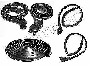 Metro Moulded Parts Rkb1900 111 Weatherstrip Basic Kit 1973 77 Chevy Monte Carlo