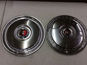1955 56 57 Two Ford Hubcaps 15 new sr8