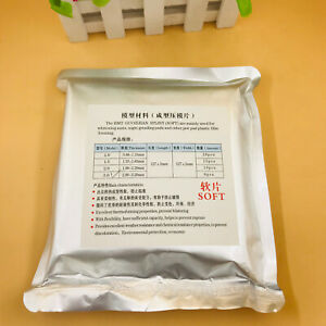 5packs 3 0mm Dental Lab Splint Thermoforming Material For Vacuum Forming Soft