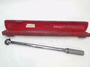 Vintage Snap on Tools 1 2 Torque Wrench Qjr 3250 30 250 Ft lbs Usa