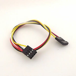 10x 30cm 4 Pin 4 Pin Header Connector Female To Female Dupont Cable For Arduino