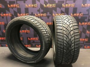 245 40 18 245 40 18 Dunlop Sp Winter Sport 3d Used Tires Pair Of Two 6 32