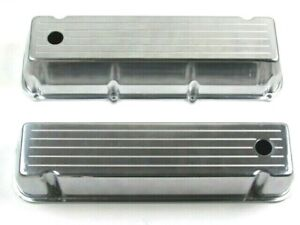 Ford 429 460 Aluminum Tall Baffled Valve Cover W Hardware Ball Milled Bpe 2211