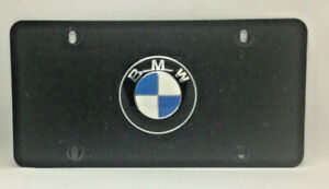 Stainless Steel Marque License Plate For Bmw