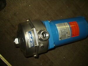 Goulds Pumps Lc Multi stage Centrifugal Pump Model Lc stainless Steel Pump