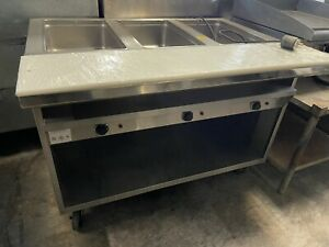 Steam Table Electric 3 Compartment
