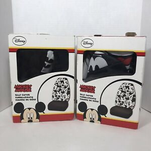 Mickey Mouse Expression 2 Front Seat Covers