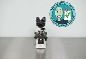 Olympus Cx41 Microscope With Warranty See Video