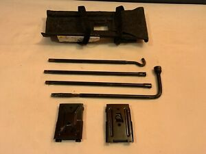 2006 2010 Hummer H3 Lug Wrench Tire Tool Kit Set With Case Oem