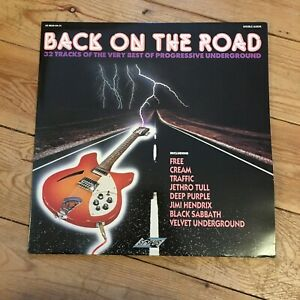 Back On The Road 32 Tracks Of The Very Best Progressive Underground Double LP GBP 15.00