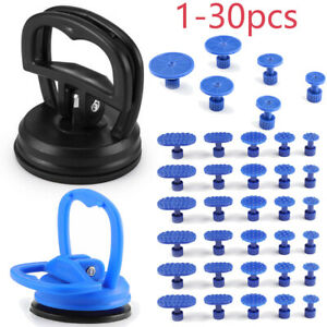 30pc Car Body Dent Repair Puller Pull Panel Ding Remover Sucker Suction Cup Tool
