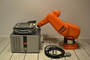 Kuka Kr 3 Robot 6 Axis At 3kg Payload W Kr C3 And Kcp2 Teach Will Ship