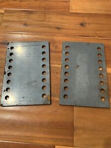 Snowdogg Lifted Truck Jeep Plow Mount Extension Plates