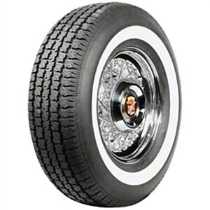 Coker Tire 700219 American Classic Collector Narrow Whitewall Radial Tire