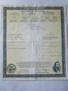 1971 Cadillac Coupe Barn Find Historical Document