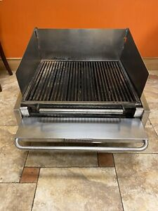 Magikitch n Apl 630 h Natural Gas Countertop Radiant Charbroiler 30 Used Grill