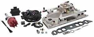 Edelbrock 358500 Pro flo 4 Efi System Big Block Chevy Rectangle Port Heads Seque