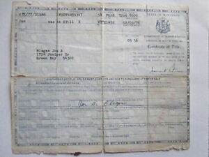 1954 Ford Truck Barn Find Historical Document