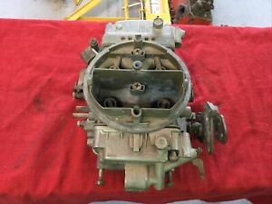Holley List 6210 4 Barrel 650 Cfm Double Pumper Spread Bore Carburetor Date 0714