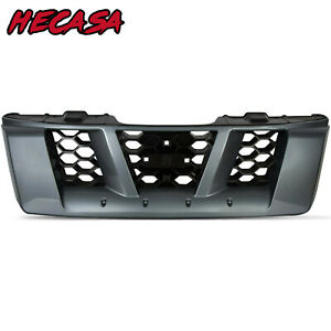 Gray Front Grille For 2005 2006 2007 2008 Nissan Xterra High Quality Plastic