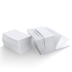 4x6 Inch Fanfold Direct Waterproof Thermal Labels White 500 Count
