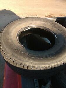 P265 75r16 Firestone Transforce Ht Used 265 75 16 123 R 4 5 32nds