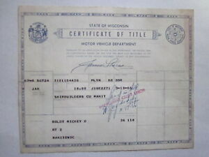 1960 Plymouth 2 Door Barn Find Historical Document