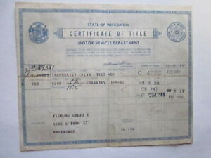 1962 Plymouth 4 Door Barn Find Historical Document