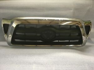 2005 2006 2007 2008 2009 2010 Toyota Tacoma Front Bumper Grille Oem