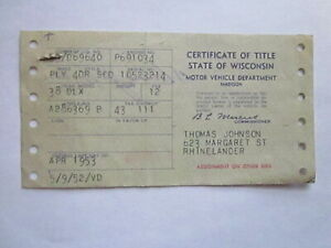 1938 Plymouth 4 Door Barn Find Historical Document