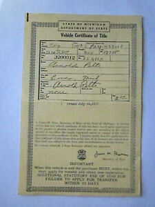 1953 Plymouth 2 Door Barn Find Historical Document