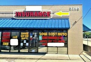 insurance Sign Outdoor Channel Letters
