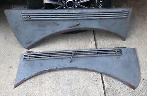 1938 Dodge D8 d9 Left Right Hood Sides With Trim handles Opening Mechanism