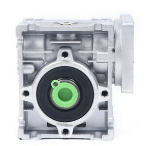 Business Industrial Adjustable Worm Gear 30 1 Ratio Speed Reducer Gearbox