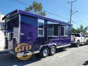 New 2021 Food Trailer 20x8