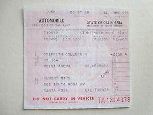 1950 Studebaker 5pcpdxch Barn Find Historical Document